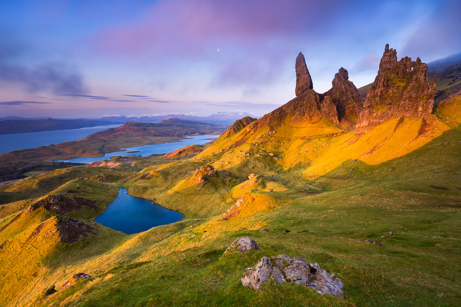 Old Mann of Storr, Scotland