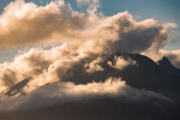 Cuilins in clouds