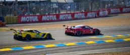 Corvette, Ferrari, Le Mans