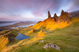 UK, Isle of Skye, Old Mann Of Storr